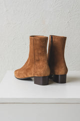MICHELLE BOOTS IN SOFT SIGARO TAN