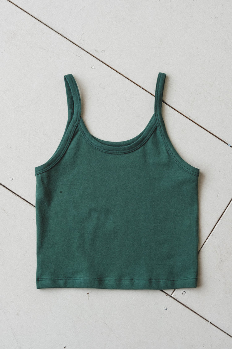 CROP TANK IN FERN