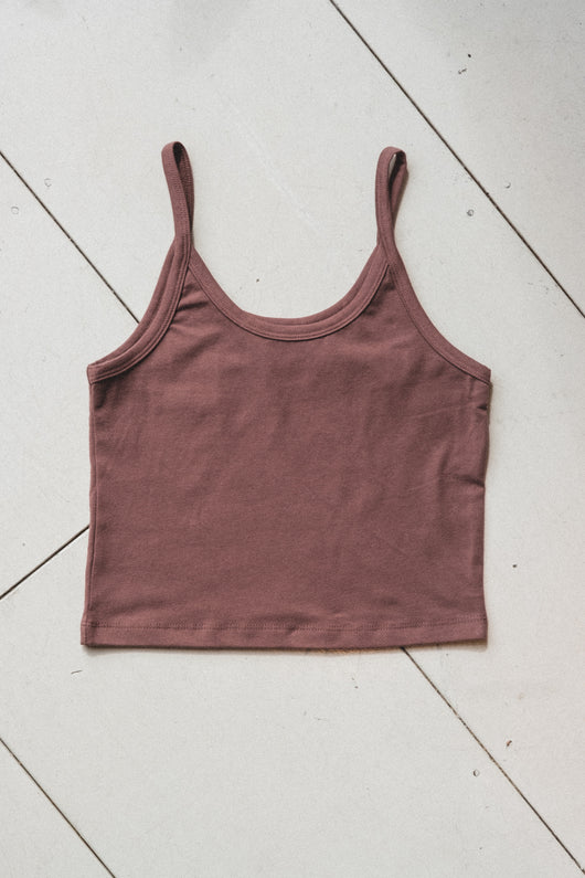 CROP TANK IN SPICE