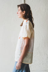 LANTERN SHEER BOWLING SHIRT