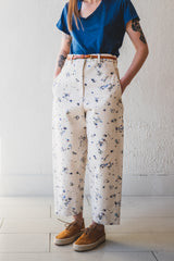 OMNI PANT IN PAINTED CANVAS
