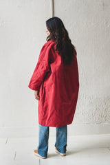 FARO OILSKIN MAC IN RED