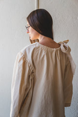 BARCO BLOUSE IN NATURAL COTTON