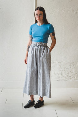 MAY PANTS IN BLOCK PRINTED COTTON