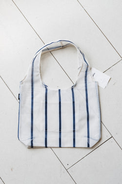 BIO-KNIT EVERYDAY TOTE IN WIDE STRIPE