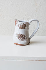 MEDIUM BIRD PITCHER WITH HANDLE