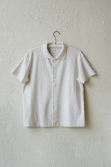 S/S PLACKET POLO IN BONE
