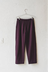 SPORT TROUSER IN BURGUNDY