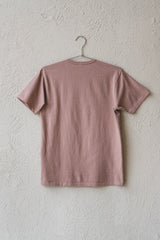 OUR TEE SHIRT IN MAUVE