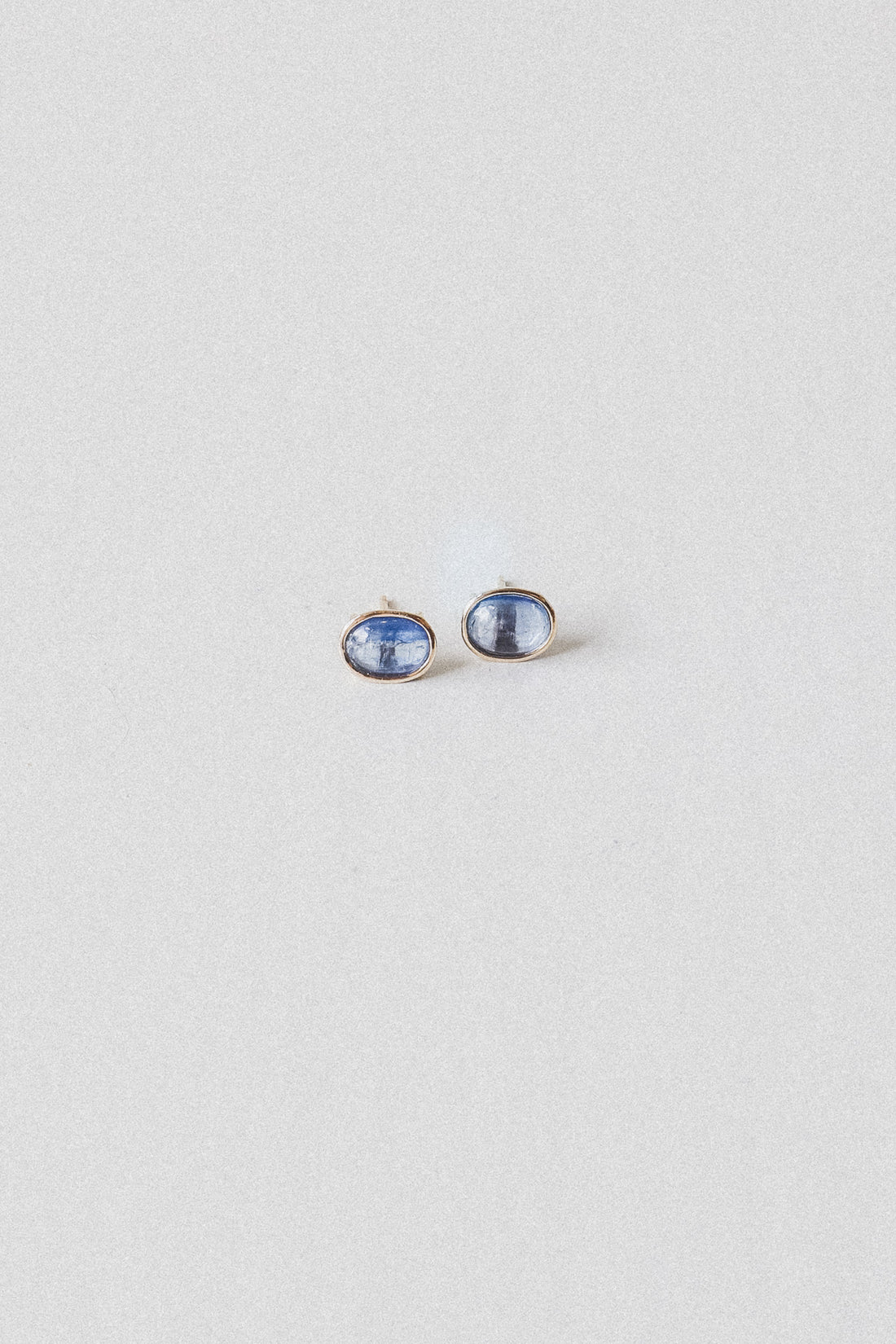 KYANITE FLOATING STUD EARRINGS IN 14K GOLD