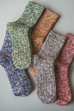 MIXED RIPPLE SOCKS