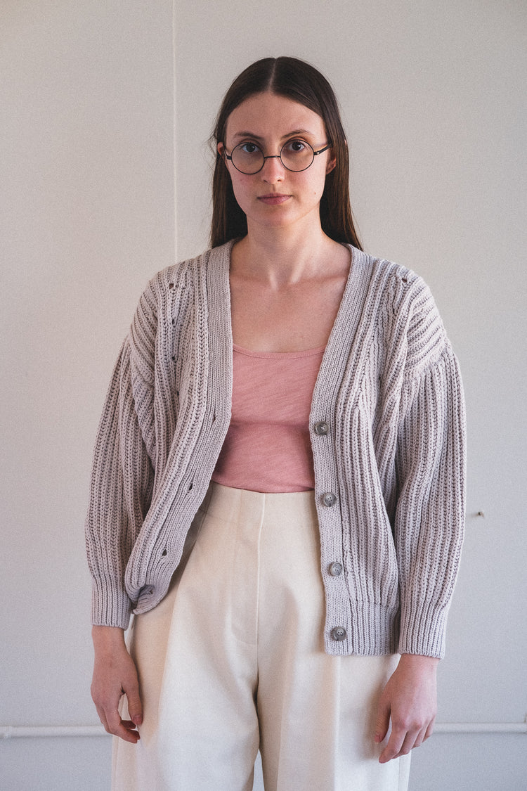 COTO SWEATER IN MINERAL