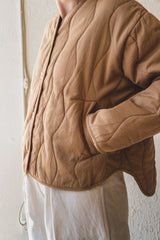 DUNE QUILTED JACKET IN BRONZE