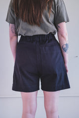UTILITY SHORT IN BLACK