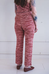 CHEVRON PANT IN VINTAGE BROWN SPACE DYE