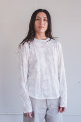 ESSENTIAL LONG TEE IN JAPANESE LACE JERSEY