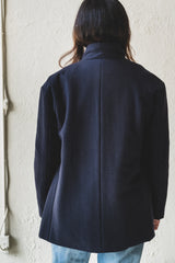PADDED JACKET IN CASHMERE/WOOL