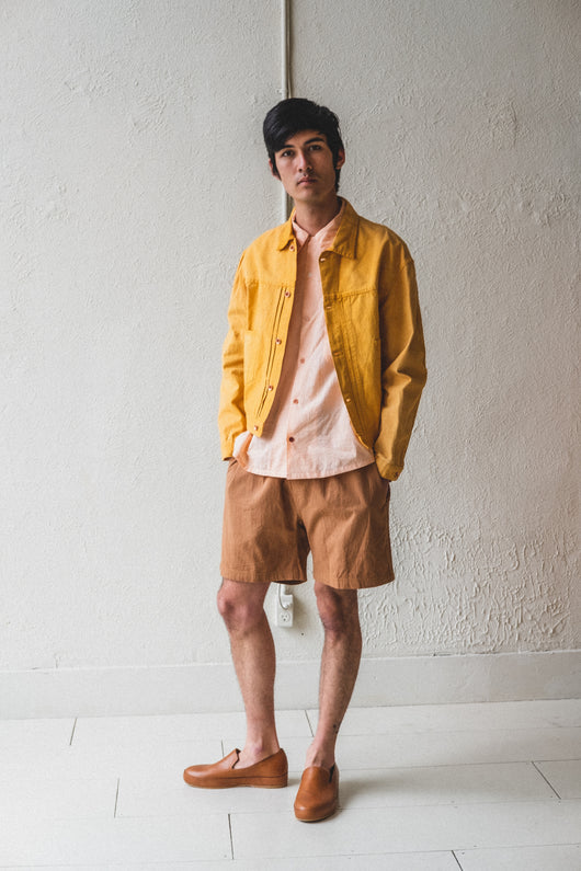 SUNDAE JACKET IN JACKFRUIT YELLOW