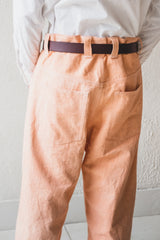 AMERICAN JEAN IN MADDER PEACH CANVAS