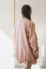 PUB JACKET IN APPLE JAM GINGHAM