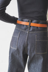 RUTHE SELVEDGE JEAN IN INDIGO
