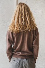 VINTAGE BROWN SWEATSHIRT 01