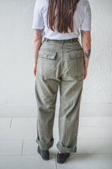 VINTAGE HBT 13 STAR MILITARY PANTS