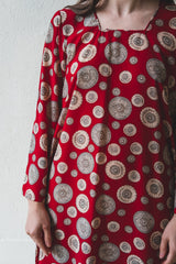 VINTAGE MEDALLION DRESS
