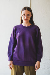 VINTAGE PURPLE SWEATSHIRT 02