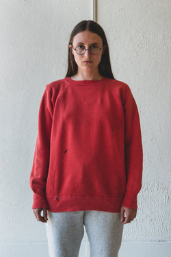 VINTAGE RED SWEATSHIRT 04
