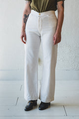 VINTAGE TIE BACK SAILOR PANTS O2