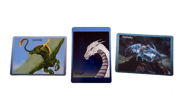 Dragon Guidance Cards by Tassia and Lindsey Horsley.