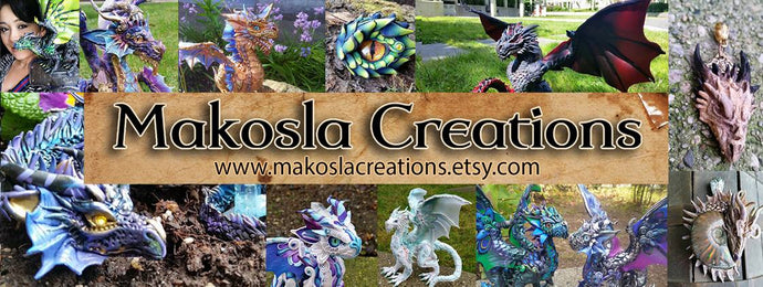 Interview with Dragon Artist and Sculptor Astrid Makosla aka Dragon Makosla