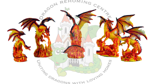 Netherwood Realm of Dragons Fire Dragons.