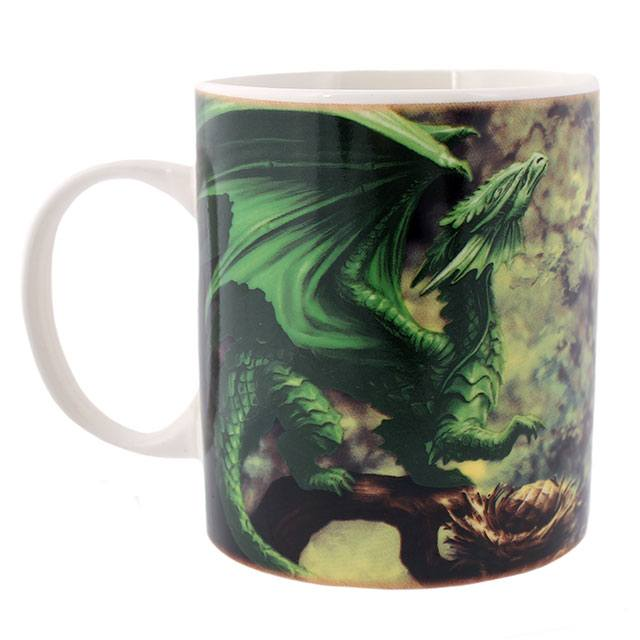 Anne Stokes Age of Dragons Forest Dragon Mug