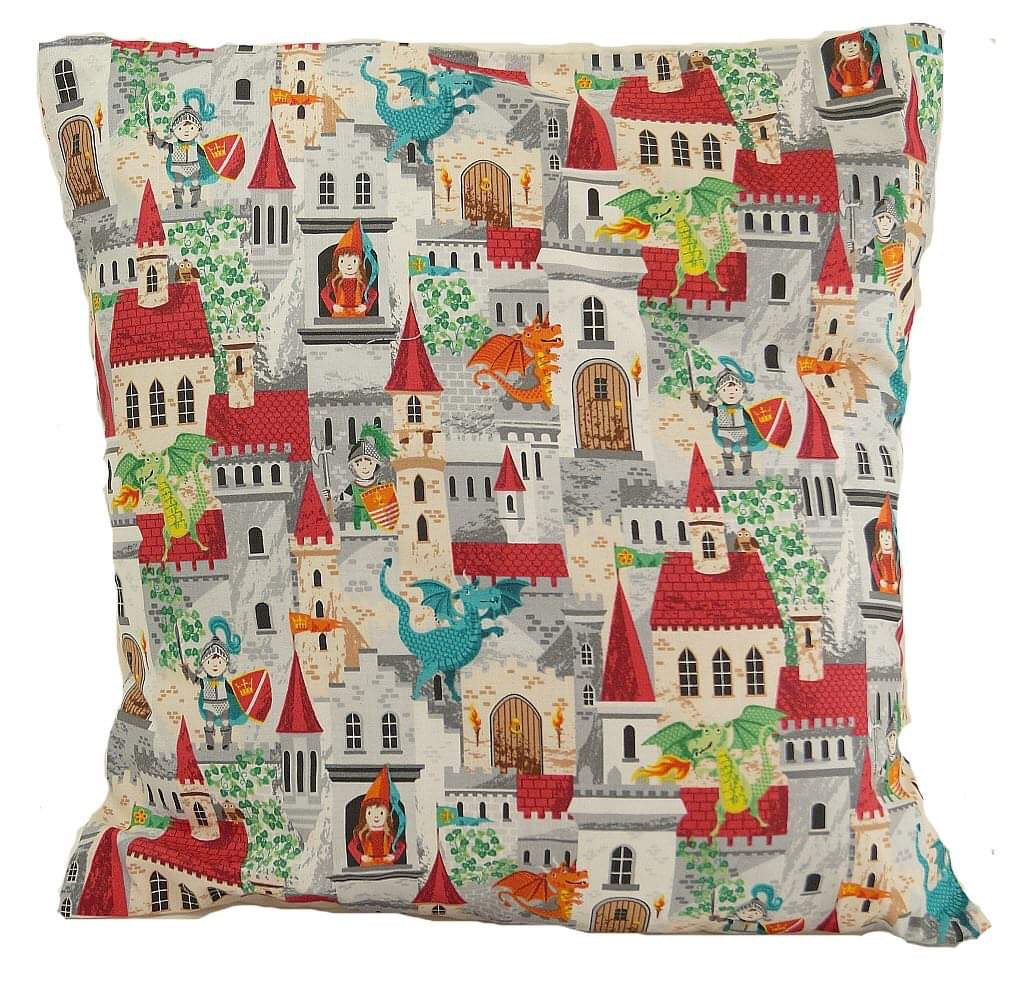 Multi Castle Cushion