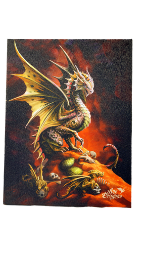 Anne Stokes Desert Dragon Canvas
