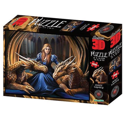 Anne Stokes Age of Dragons 3D Puzzle.