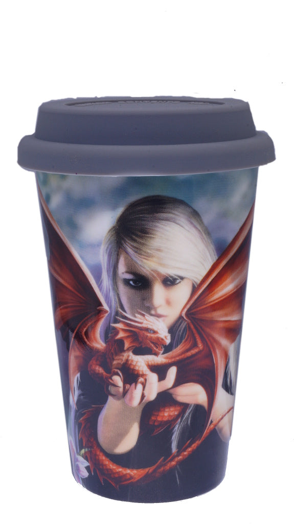 Anne Stokes Dragon Kin Travel Mug