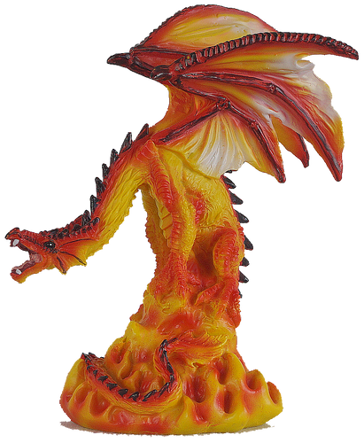 Realm of Dragons Small Fire Dragon A.