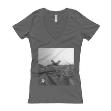 """Peek-a-Boo"" Women's V-Neck"