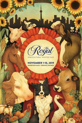The Royal Agricultural Winter Fair 2019 rolled poster