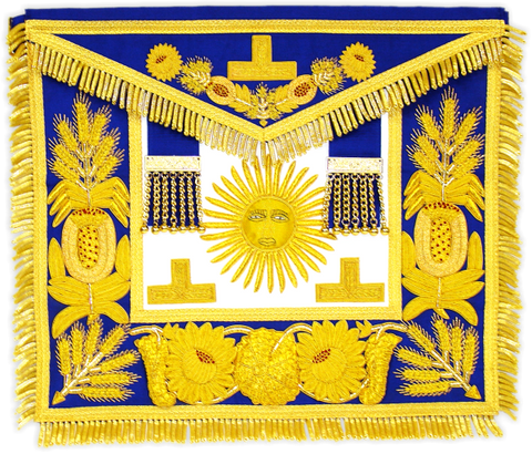 Grand Master Apron - Dominion Regalia Ltd.