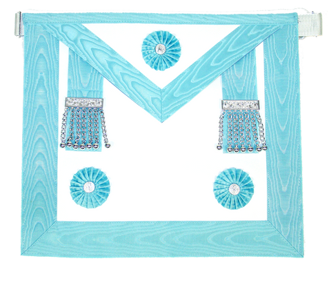 Master Masons Apron Silver - Dominion Regalia Ltd.