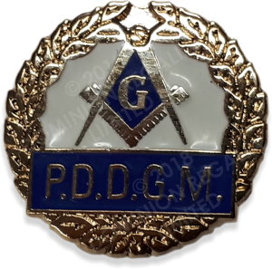 PDDGM Lapel Pin - Dominion Regalia Ltd.