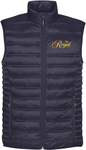 ROYAL NAVY VEST - Mens