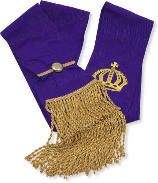 RCC Sovereign Sword Sash - Dominion Regalia Ltd.
