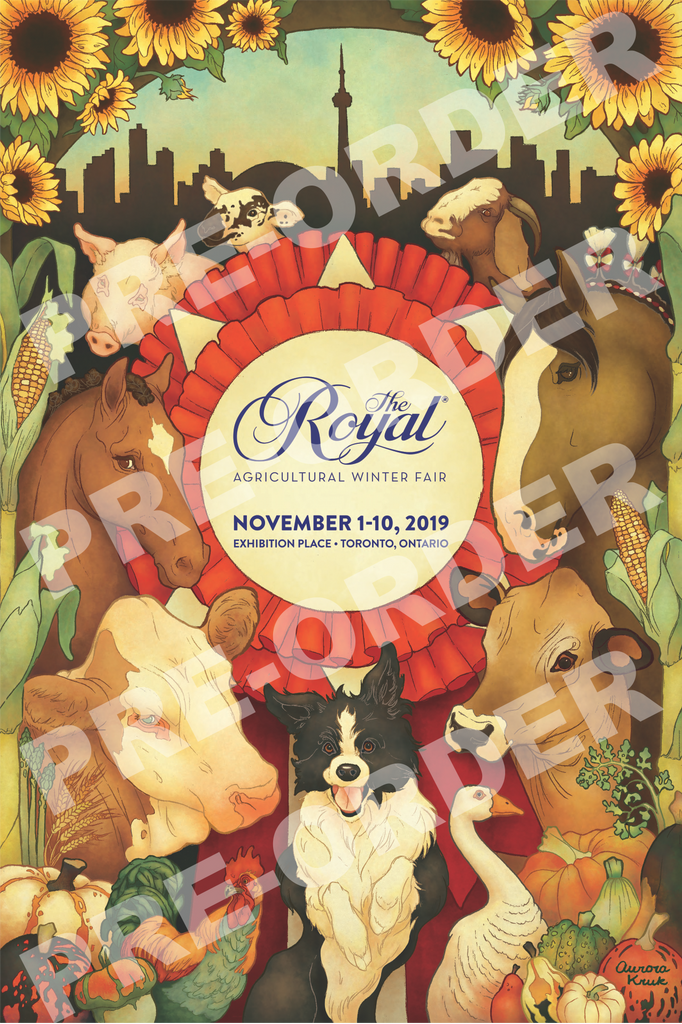 The Royal Agricultural Winter Fair 2019 rolled poster ***PRE-ORDER for PICK-UP in Paddock***
