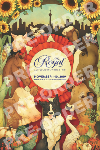 The Royal Plaque Mounted Poster 2019 **PRE-ORDER**