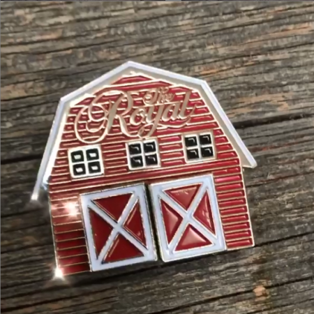 Royal Agricultural Virtual Experience® **SPECIAL** Deluxe Royal Barn Lapel pins